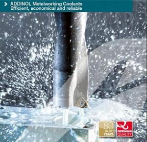 Noul Catalog ADDINOL pentru industria prelucrarii metalelor