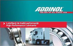 Catalogul de produse ADDINOL in romana